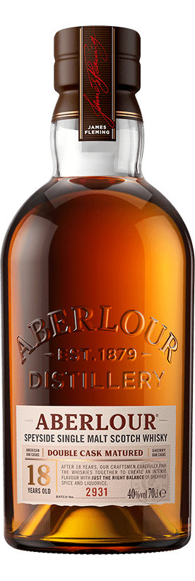 aberlour 18 years old speyside single malt scotch whisky